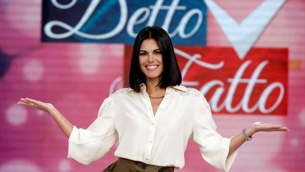 """Oggi in TV: La settimana di """"Detto Fatto"""" su Rai2 - Tra gli ospiti Simona Ventura e Riccardo Fogli"""