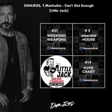 "DAN:ROS: ""Can't Get Enough"" con T.Markakis su Little Jack"
