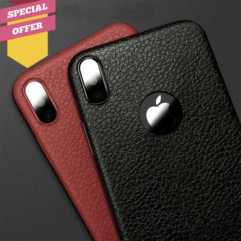 Leather Ultra Thin Iphone Case For iPhone 6S 6 7 8 Plus XS Max 1