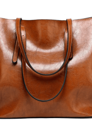 Women Tuff  Leather Tote Handbag