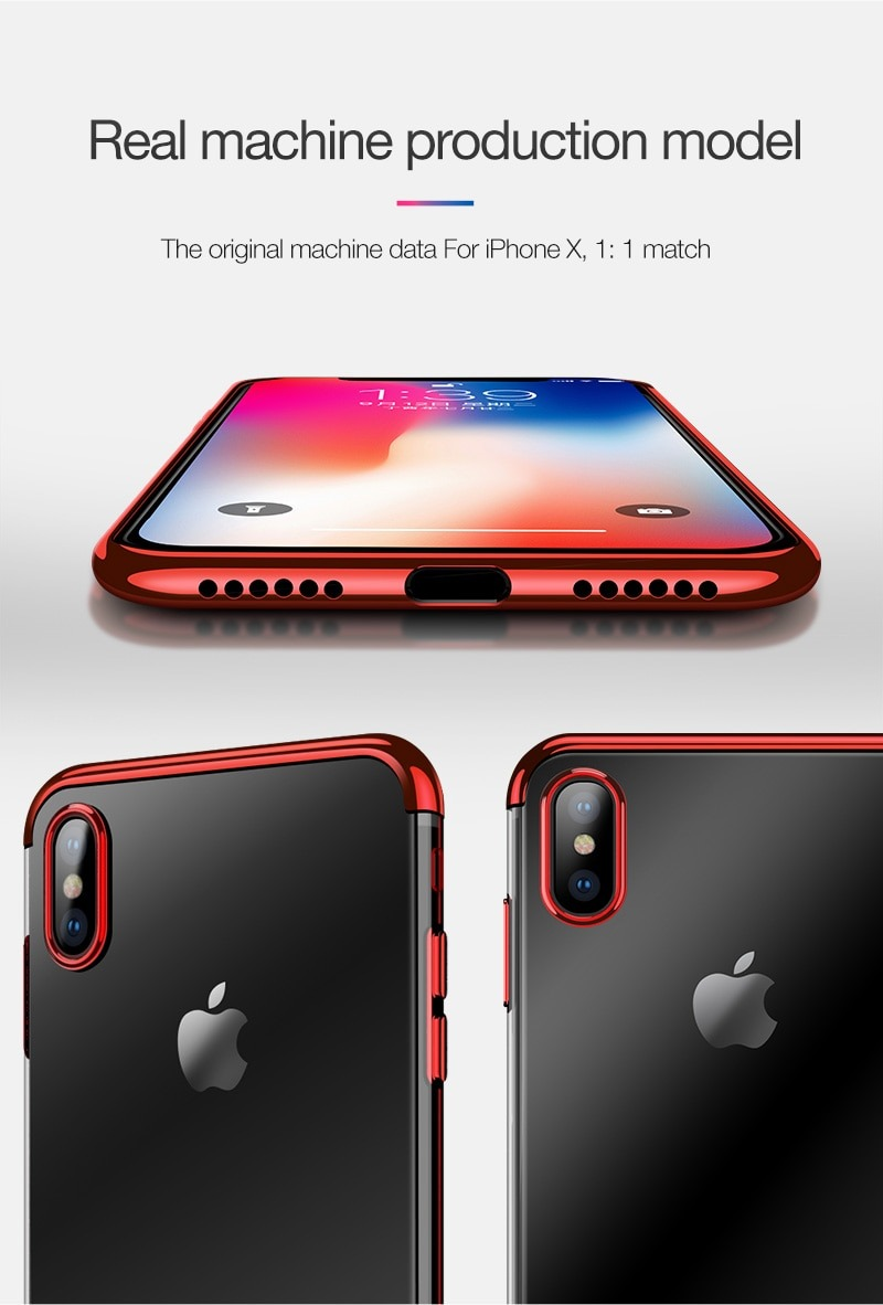 Royles! Silicon anti-scratch iPhone X case 9