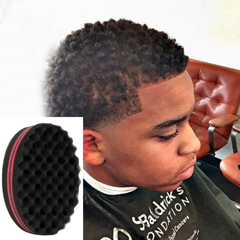 Curly Hair Styling Sponge Brush Dreads Lock Foam 2