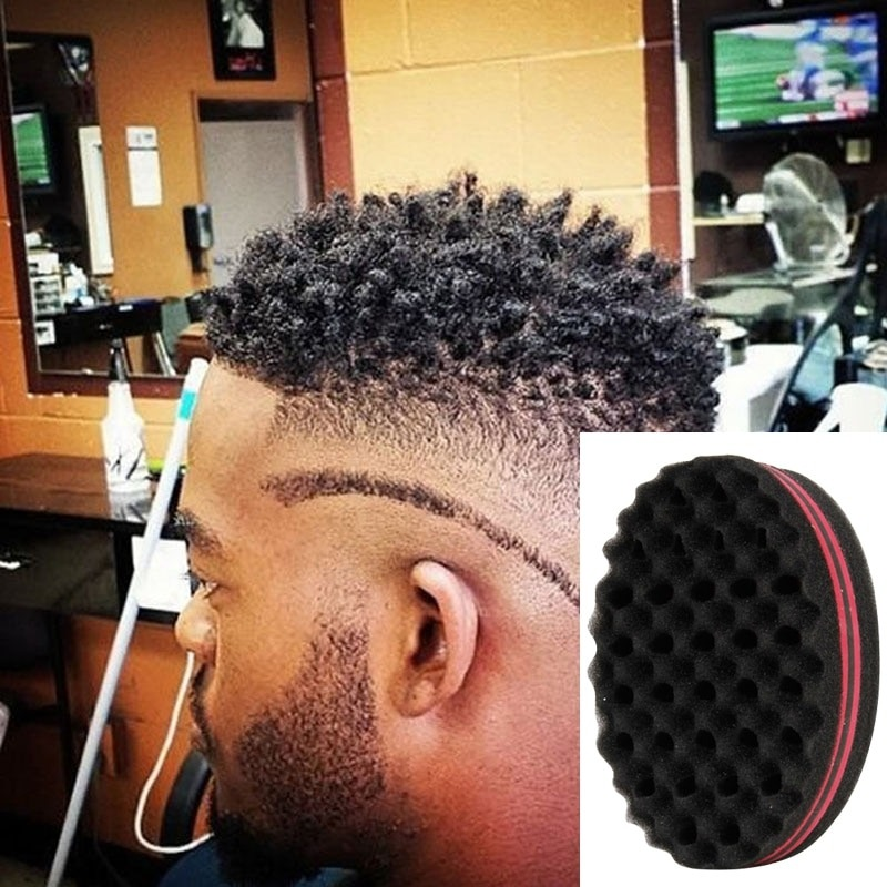 Curly Hair Styling Sponge Brush Dreads Lock Foam