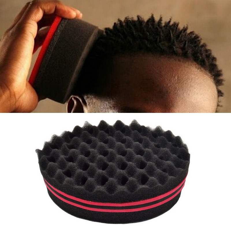 Curly Hair Styling Sponge Brush Dreads Lock Foam 1