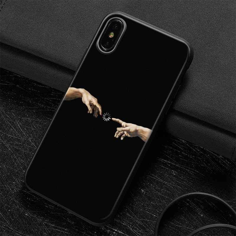 Royles art silicon Iphone X casing 8