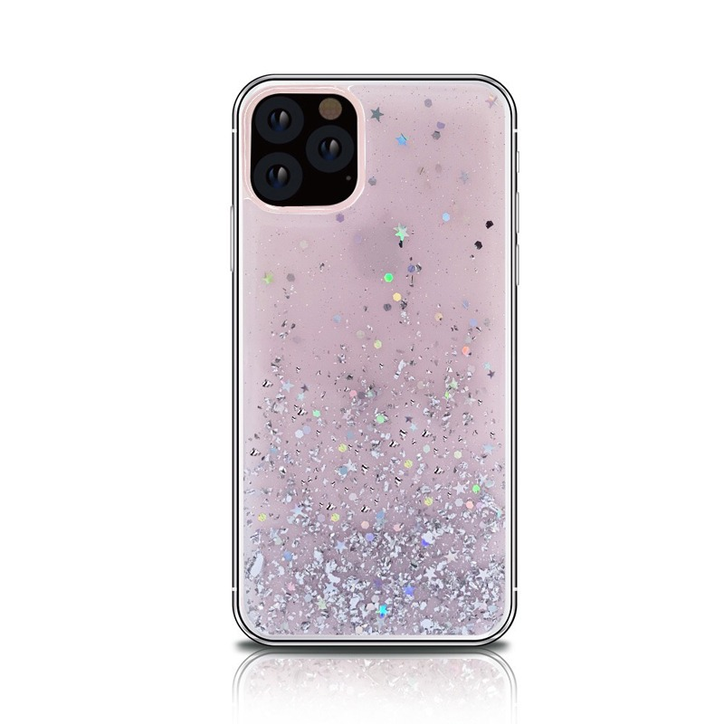 Bling Silicon Apple iphone 11 Case Transparent Protective Cover 5