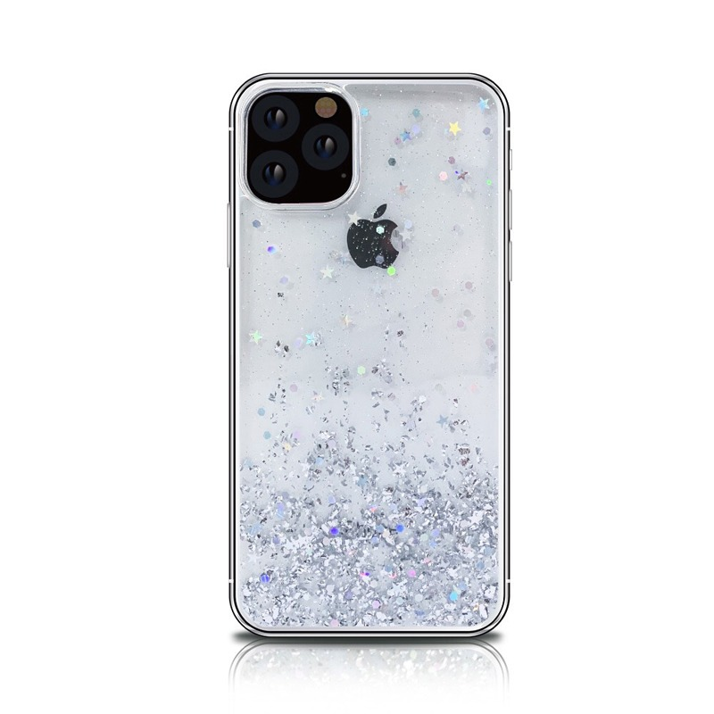 Bling Silicon Apple iphone 11 Case Transparent Protective Cover 3