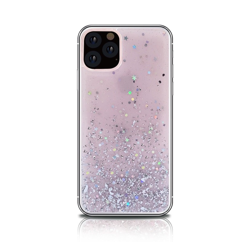 Bling Silicon Apple iphone 11 Case Transparent Protective Cover 1