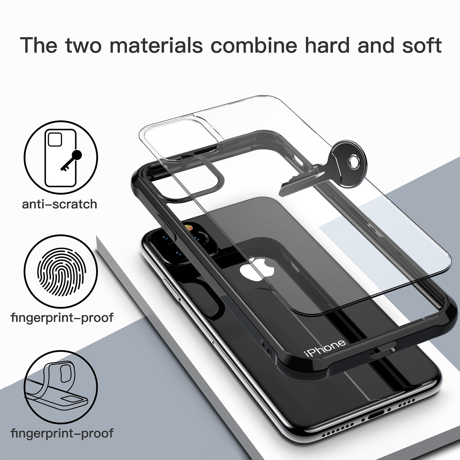 Royles! Iphone 11 or iPhone 11 Pro Max Case and Shockproof Cover 3