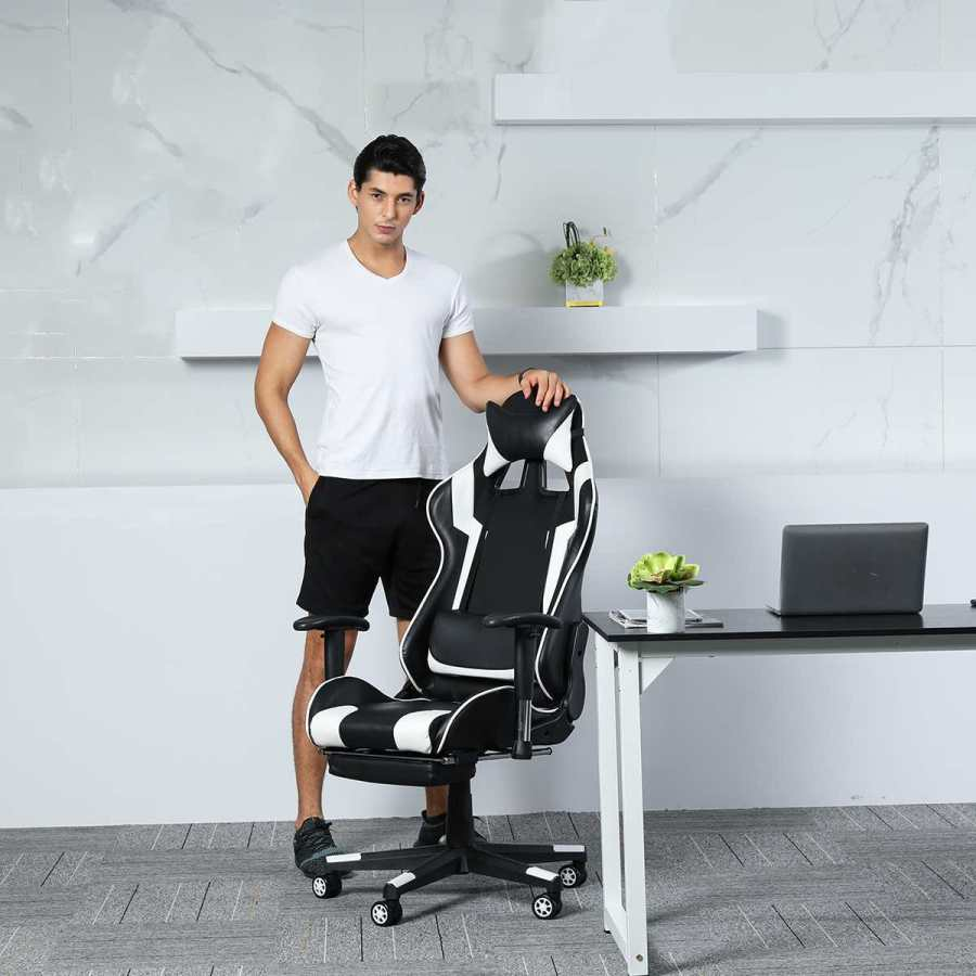 Ergonomic Gaming Recliner Office Chair 19