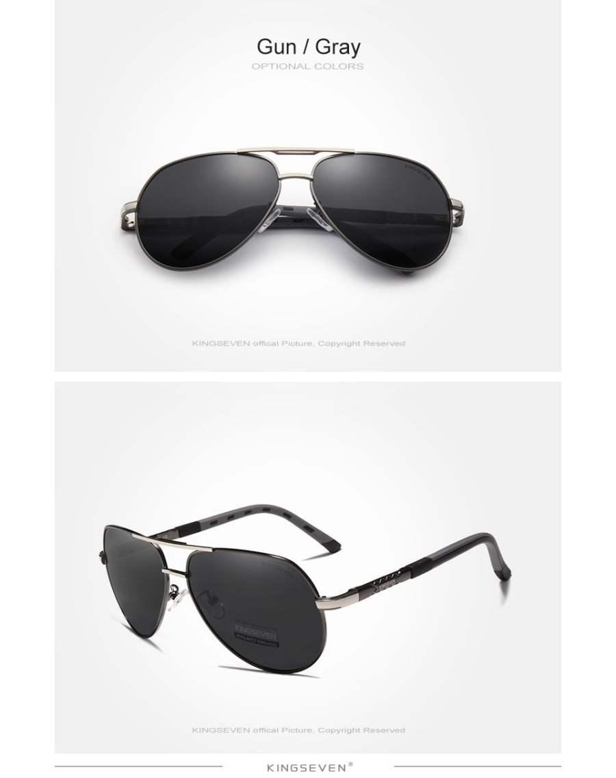 Aluminum Polarized Sunglasses Eyeglasses 25