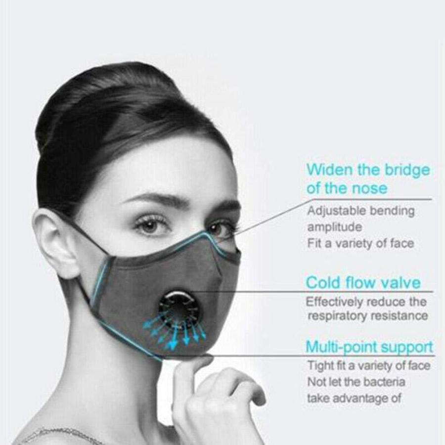 Cotton Breath 5 Layer N95 Face Mask Anti-Dust Anti Pollution Protection 25