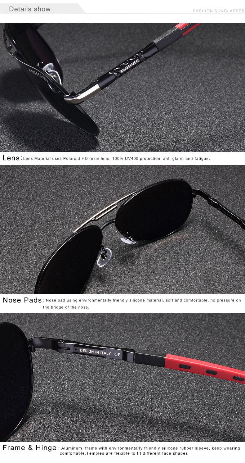 Aluminum Polarized Sunglasses Eyeglasses 30