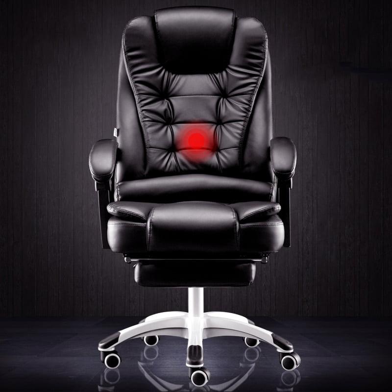 Reclining massage foot rest seat  1