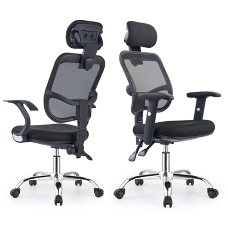 modern minimalist recliner office chair swivel  1