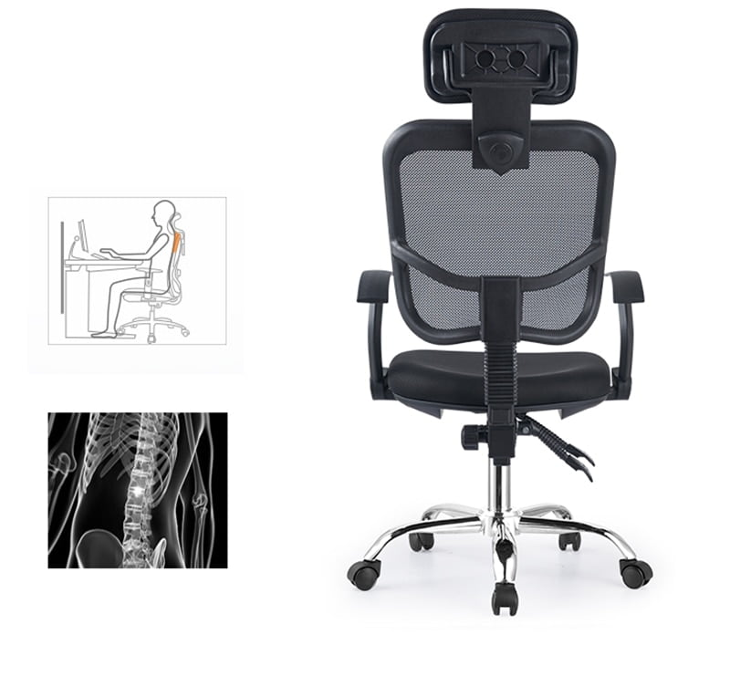 modern minimalist recliner office chair swivel 14