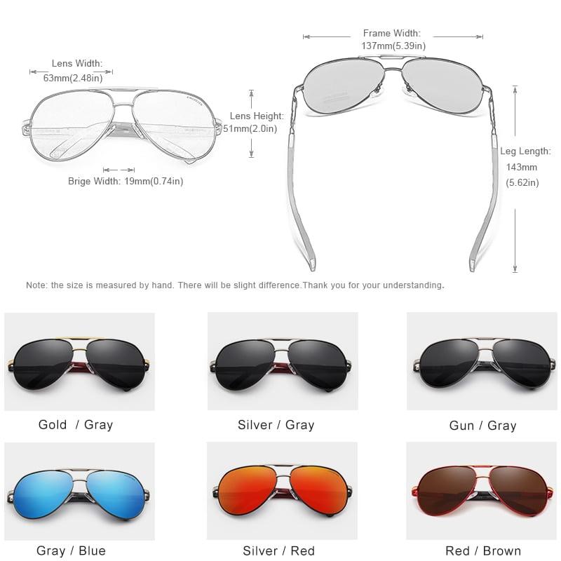 Aluminum Polarized Sunglasses Eyeglasses 3