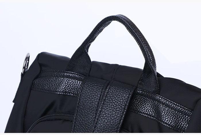 Women Anti-Theft Waterproof Fabric Backpack 9