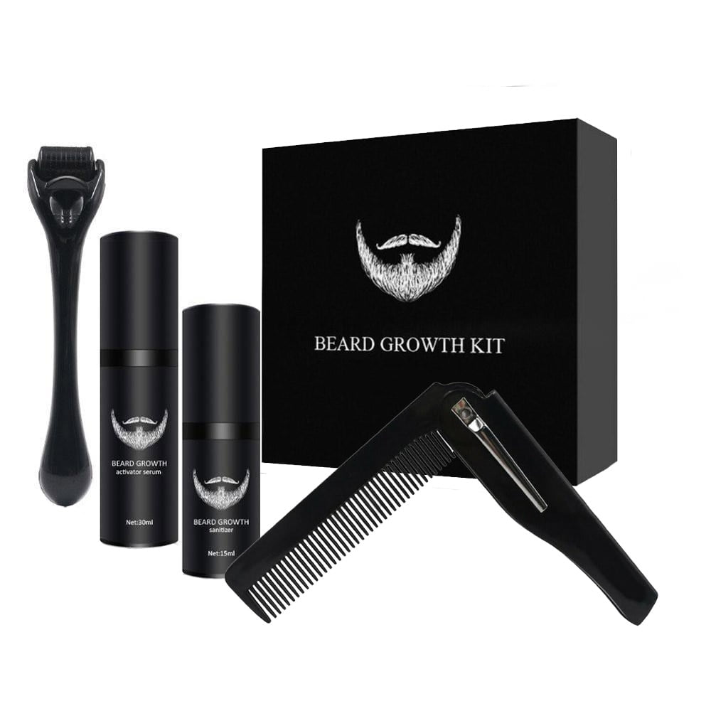 Beard Growth Enhancer Kit With Nourishing Conditioner Oil 1