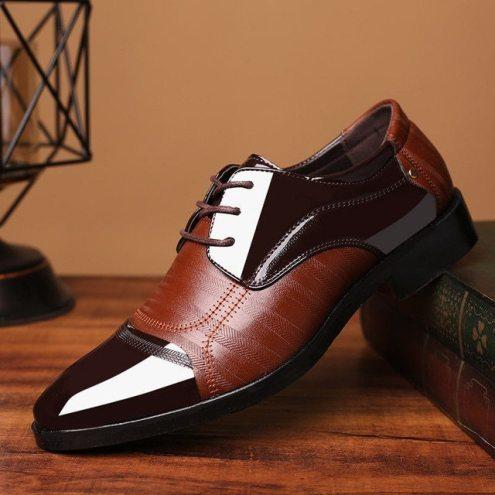 Royles! Men Original Italian Leather Shoe 1