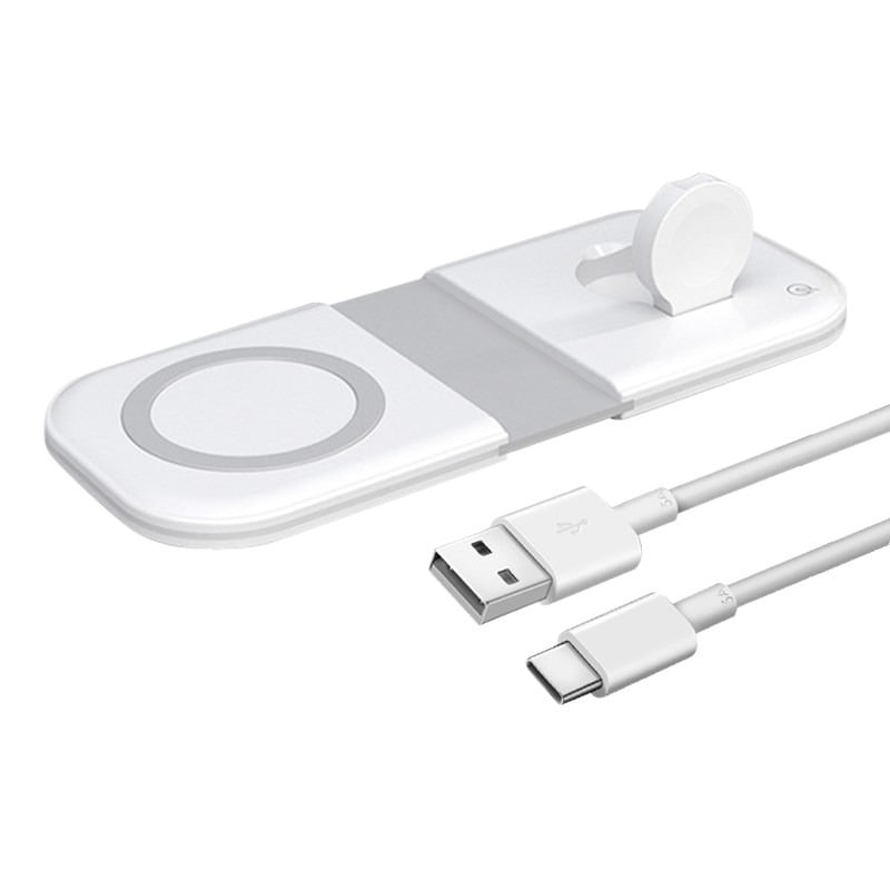Royles! Dual Magnetic Wireless Charger For iPhones and Apple Watch