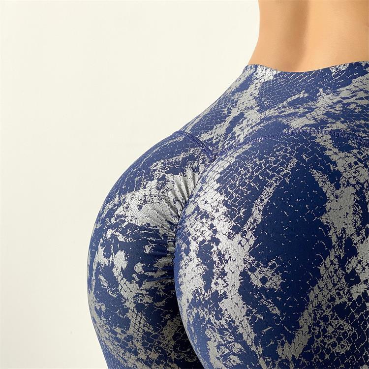 Women Serpentine High Waist Yoga Pants Leggings 5