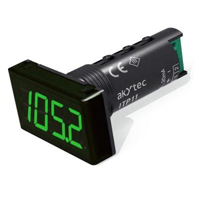 ITP11 Universalanzeige 4-20 mA Farbe der Anzeige: grün   digitale Universalanzeigen   Messtechnik   Online Shop   PuO-GbR-Shop