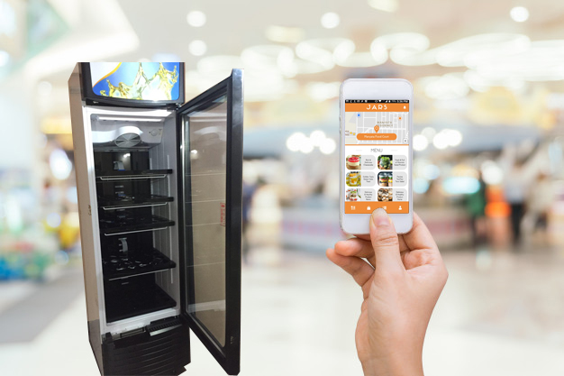 IoT powered smart vending machine