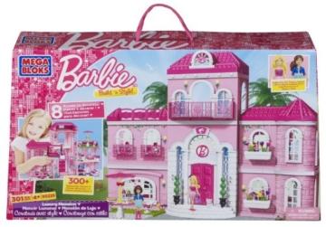Mega Bloks 80229  Barbie  Build n Style Luxus Villa