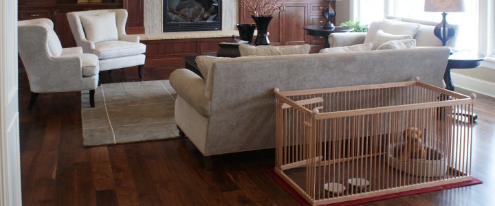 The Best Wooden Dog Crates  Pupperton  Home
