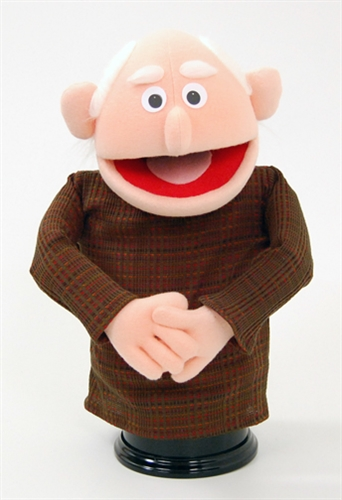 Grandpa Hand Puppet A Professional Puppet For Your