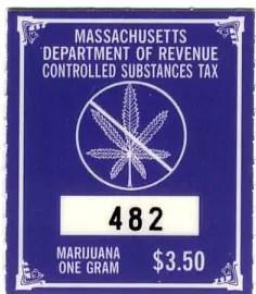 US Marijuana Tax stamps…