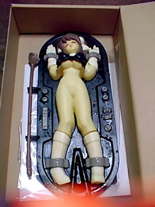 Edible miniature Japanese sex doll set (Mildly NSFW)