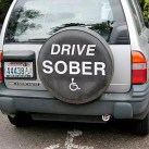 Argument between couple over who is too drunk to drive ends… well, as you might expect it to