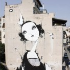 Mural By Alexandros Vasmoulakis in Karditsa, Greece