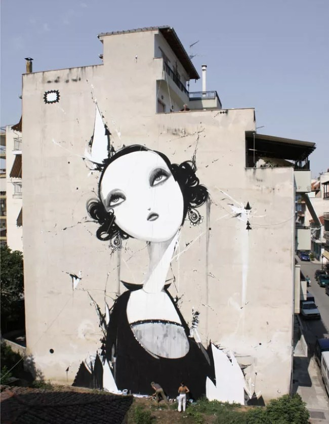 Mural By Alexandros Vasmoulakis