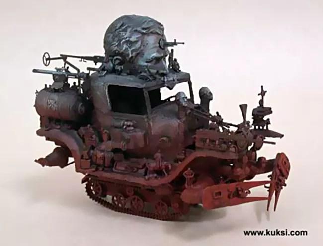 The Art of Kris Kuksi
