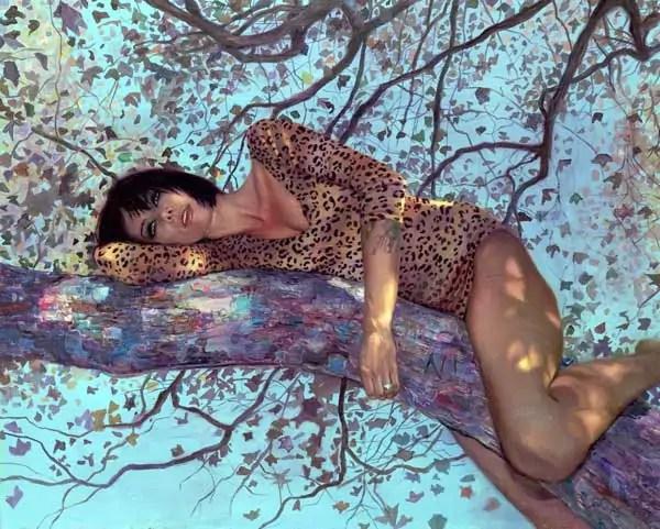 "The Paintings of Natalia Fabia — ""Hooker Safari"""