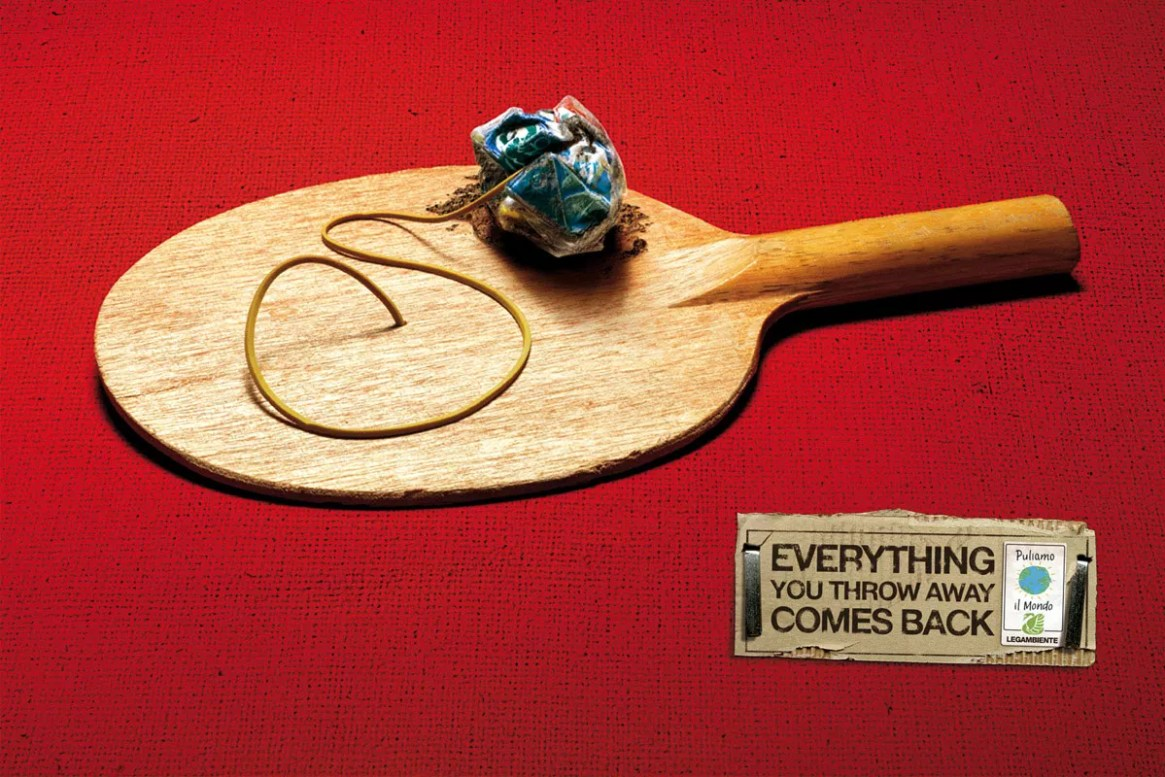 Ad campaign for an Italian Environmental Group