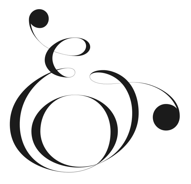 Everything Ampersand — more examples than you can shake a stick at…