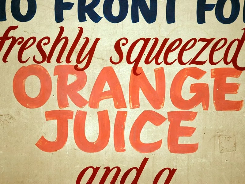 TypeArchive — Wonderful image library primarily focused on hand painted signage 05