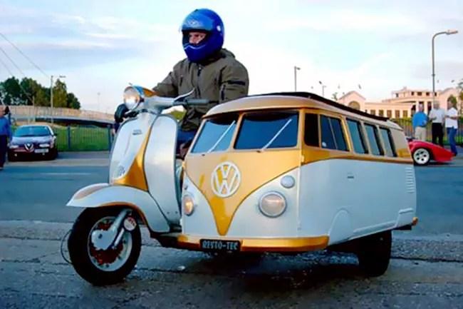 VW Motorbike Side Car