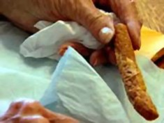 Sisters mail hot dog back and forth for 54 years