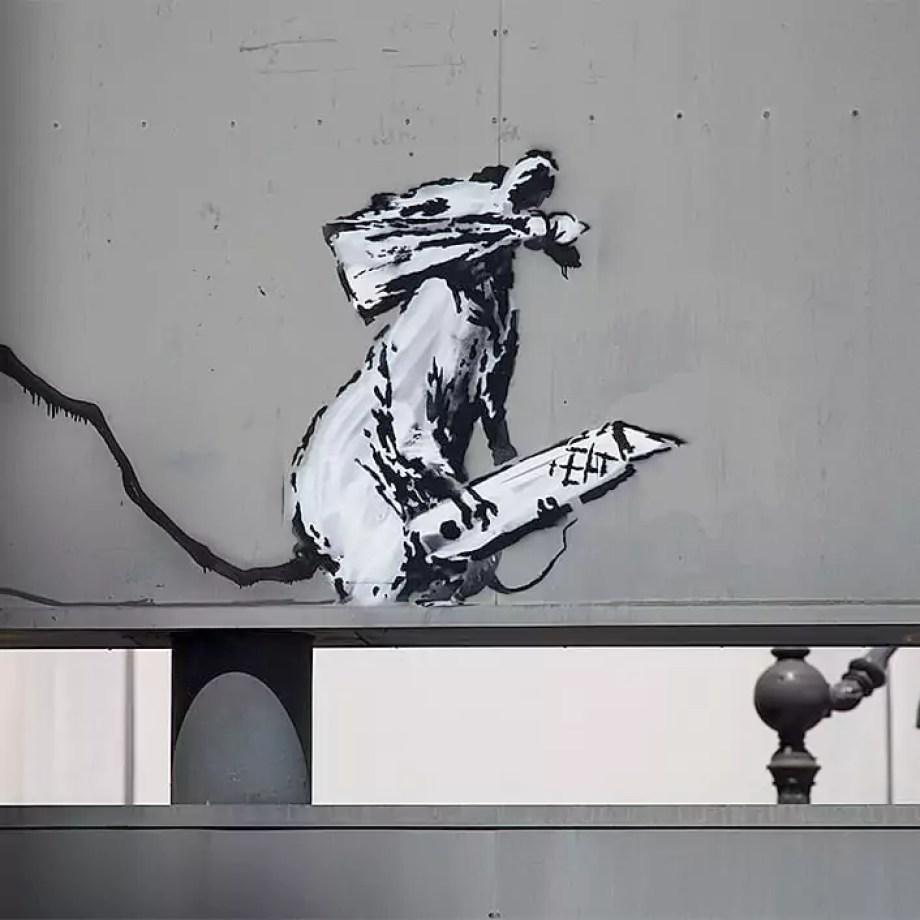 Rat Stencil Detail