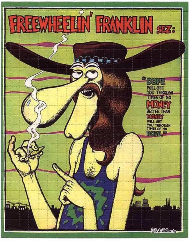 The LSD Blotter – Daily Dose Of Tab Acid Art 12