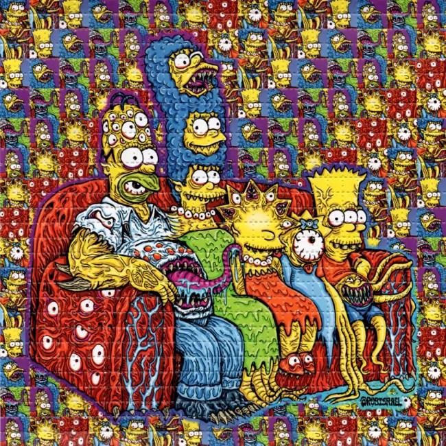 The LSD Blotter – Daily Dose Of Tab Acid Art 09