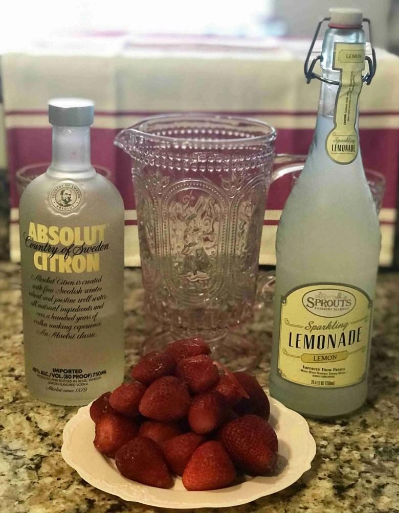Strawberry Lemonade Slushies
