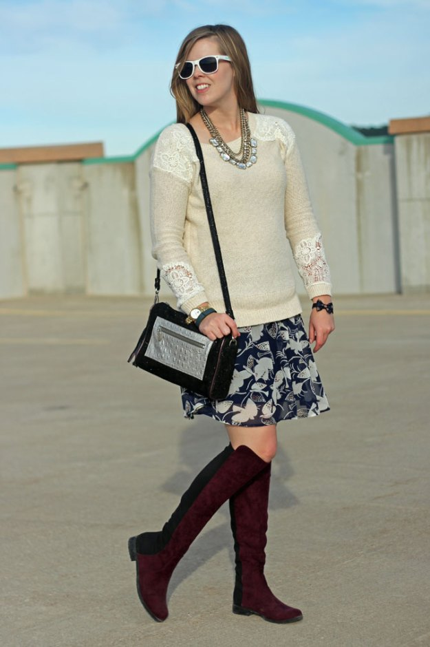 tan-with-lace-accents-sweater-blue-bird-skirt-marsala-boots