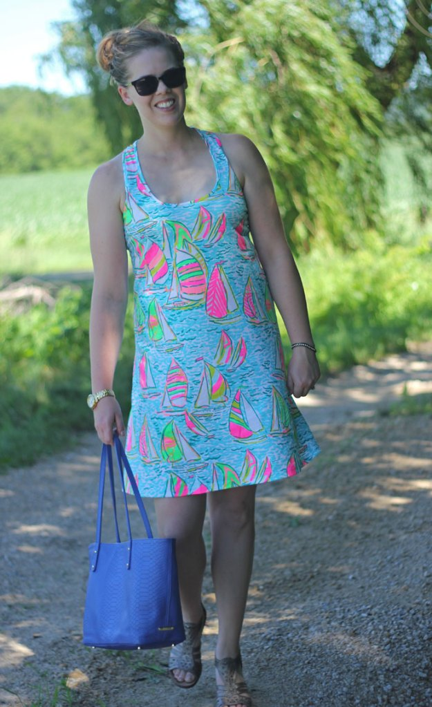 Lilly Pulitzer You Gotta Regatta Melle dress