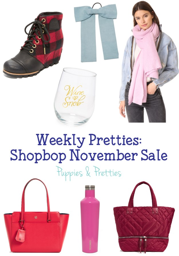 Shopbop November Sale: stock up on great items at even better prices! | Puppies & Pretties
